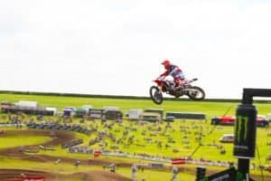 Motocross Event Toilet