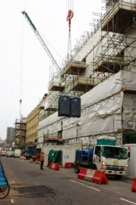 Portable loo hire for high rise buildings