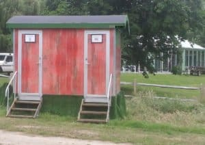 themed toilet trailers