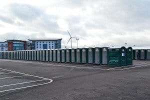 Portable Event Toilet Hire For Running Events