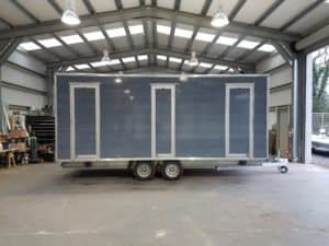 bespoke toilet trailer hire