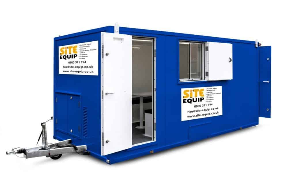 what is the difference between a welfare unit and cabin?