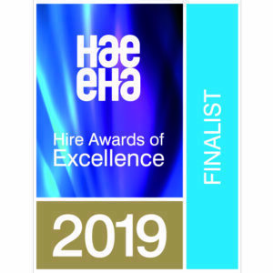 Site Equip Have Been Shortlisted for Two Awards at The Hire Awards of Excellence 2019!