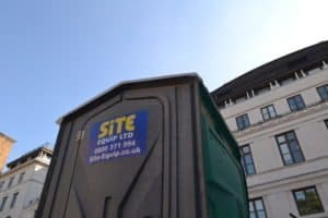 Over 100 Brand New Construction Site Toilets Have Arrived
