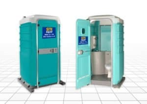Single Mains Connected Portable Toilets Available in 110V & 240V