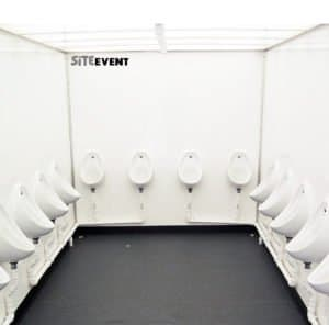 urinal hire for large events